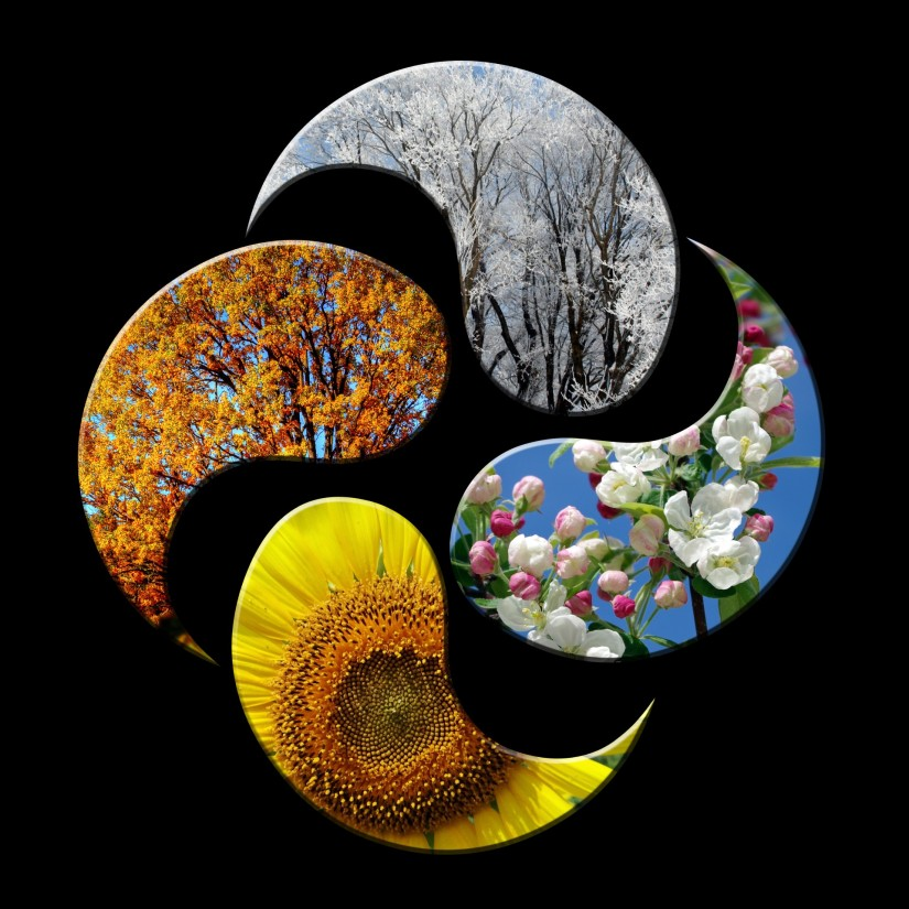 The 4 Big Celestial Events of a Year — The Foundation of the Seasons and the TropicalZodiac