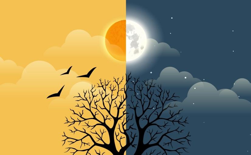 Astrologinen konsepti sektistä — päivän ja yön merkitys kartantarkastelussa