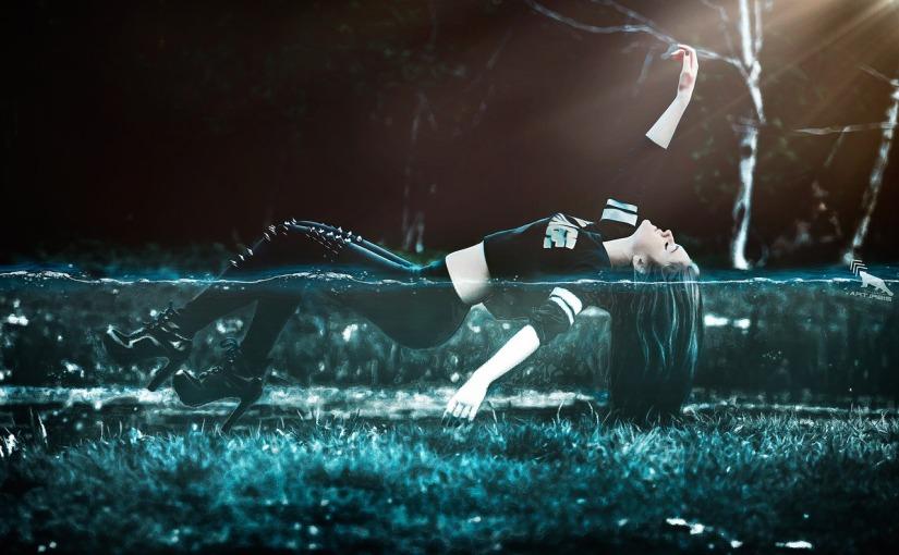 Schwerelos in Helsinki — Floating imSchwebebad