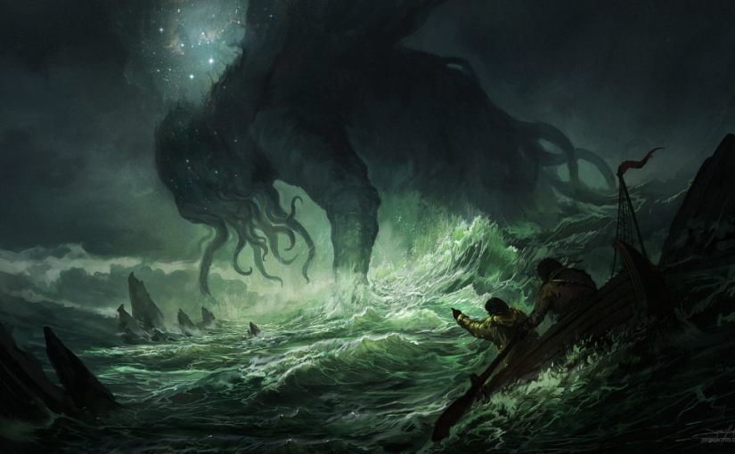 The Call of Cthulhu by H.P. Lovecraft — Astrological Notes on the Story and the Author's Life: Saturnian Vibes
